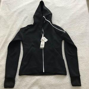 Adidas Black and White ZNE Jacket